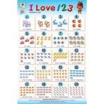 I LOVE 123